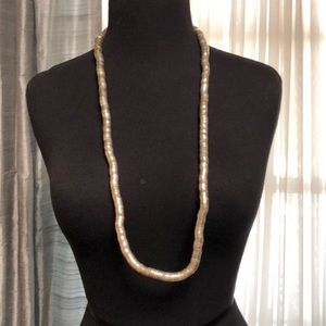 Gold bend-able necklace -NWOT